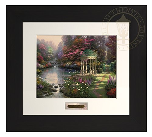 The Garden of Prayer - Thomas Kinkade Modern Home Collection (Espresso Frame) by Thomas Kinkade