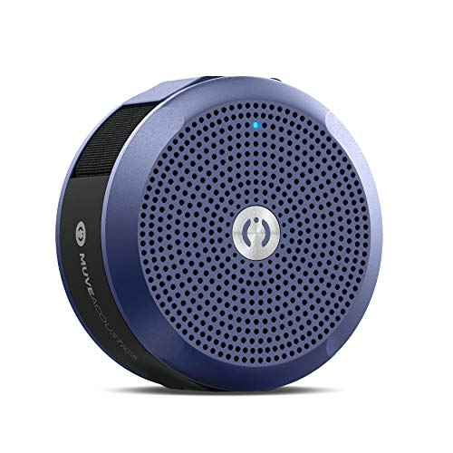 MuveAcoustics A Star MA 2100FB Portable Wireless Bluetooth Speaker with Mic  Flagship Blue