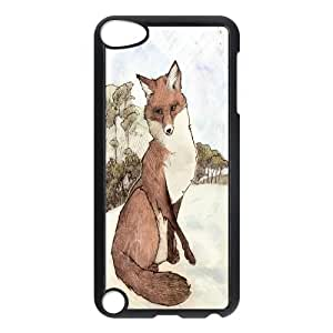 High quality Cute fox series protective case cover FOR Ipod Touch 5 y-fcb-u3843