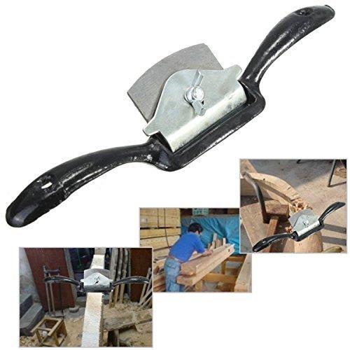 (52mm Blade 220mm 2-Handed Spoke Shave Flat Planer Tool For Woodwork)