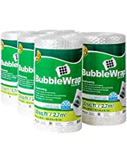 """Duck Brand Bubble Wrap Roll, 3/16"""" Original Bubble Cushioning, 12 Inch x 180 Feet, Perforated Every 12"""""""