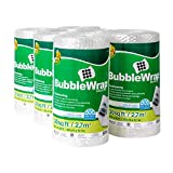 Duck Brand Bubble Wrap Roll, 3/16' Original Bubble Cushioning, 12' x 180', Perforated Every 12'