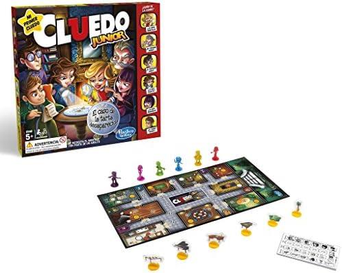 Hasbro Gaming- Juegos Cluedo Junior (Versión Española), Multicolor, Talla Única (C1293105): Amazon.es: Juguetes y juegos