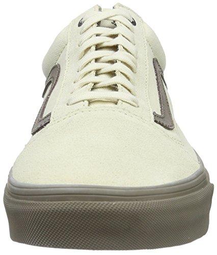 Vans Unisex Old Skool (c & D) Skate Schoen Creme / Walnoot