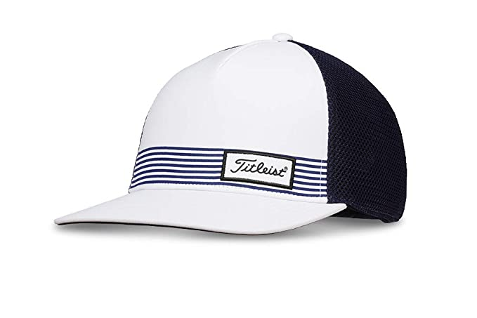 Titleist Surf Stripe Gorra, Blanco (Azul Marino/Blanco TH9ASRFTEA ...