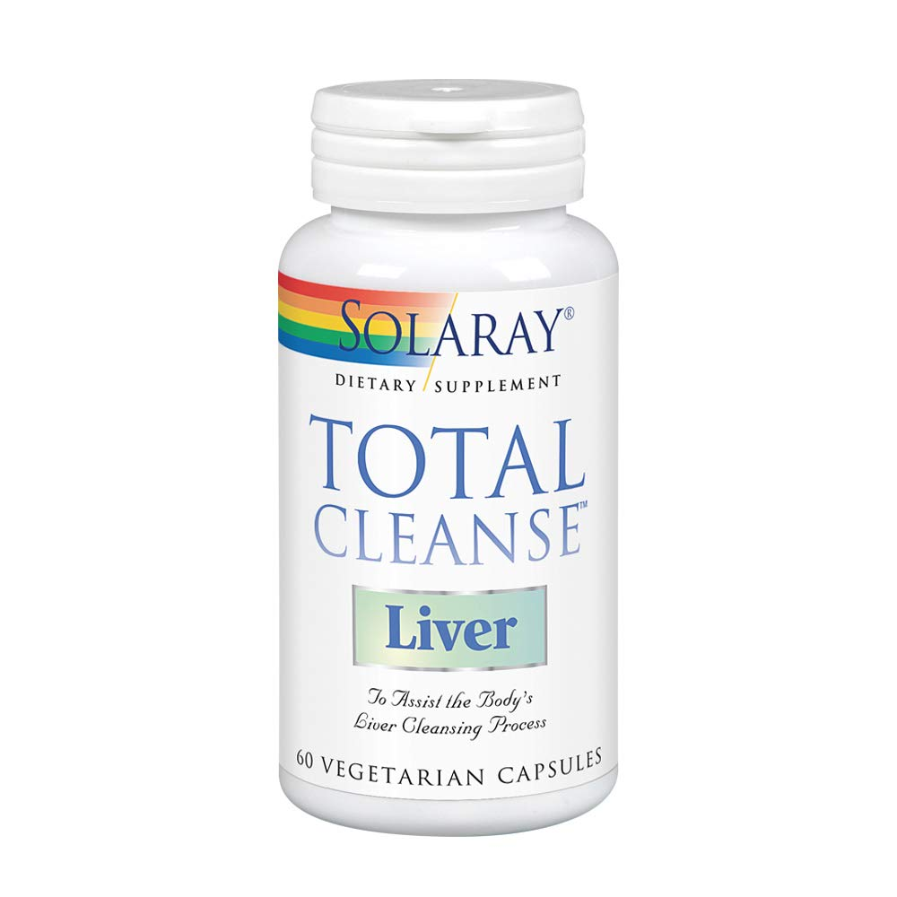 Solaray Total Cleanse Liver VCapsules, 60 Count by Solaray