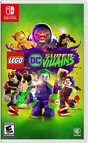 LEGO DC Super-Villains - Nintendo - Wii Movie Nintendo