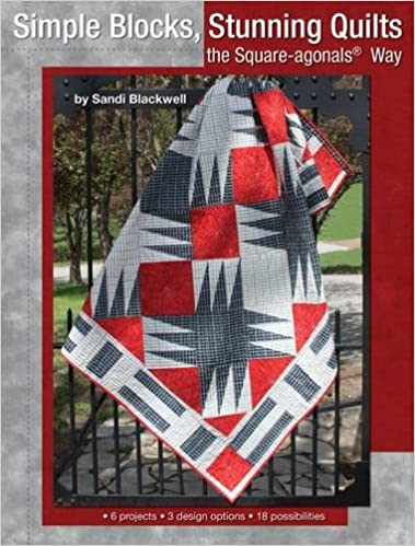 Book Simple Blocks, Stunning Quilts the Square-Agonals Way: 6 Projects, 3 Design Options, 18 Possibilities