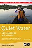 Quiet Water New Hampshire and Vermont, John Hayes and Alex Wilson, 1934028355