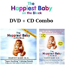 """The Happiest Baby on the Block DVD + CD COMBO By Dr. Harvey Karp The New Way to Calm Crying, and Help Your Baby Sleep Longer + """"Super Soothing"""" Calming Sounds CD With 5 great sounds!"""