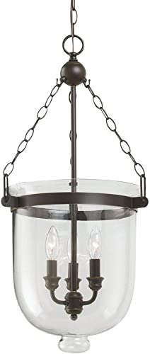 Sea Gull Lighting 65047-715 Westminster Three-Light Pendant Hanging Modern Fixture
