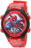 Marvel Boys' Quartz Watch with Plastic Strap, red, 16 (Model: SPD3515A): more info