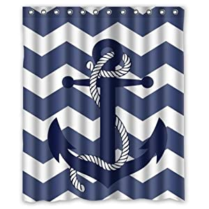 51tlECZz-pL._SS300_ 200+ Beach Shower Curtains and Nautical Shower Curtains