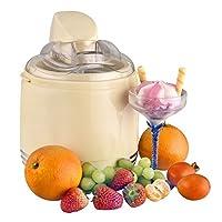 Kalorik 2 in 1 Retro-Speiseeismaschine und Joghurtmaker, 15 W