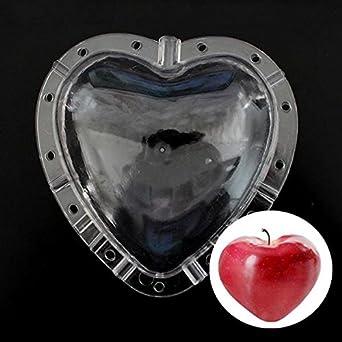 En forma de corazón frutas Shaping molde jardín Apple pera Peach crecimiento Forming molde herramienta