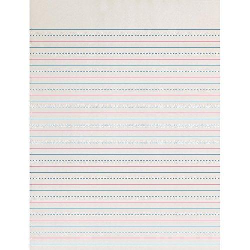 PACON Corporation ZP2613 Broken Midline Paper, 1/2
