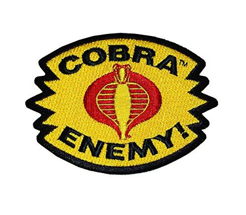 (GI Joe Cobra Enemy! Iron-On Patch )