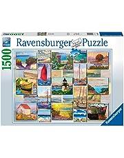 Ravensburger puzzel Coastal Collage - Legpuzzel - 1500 stukjes