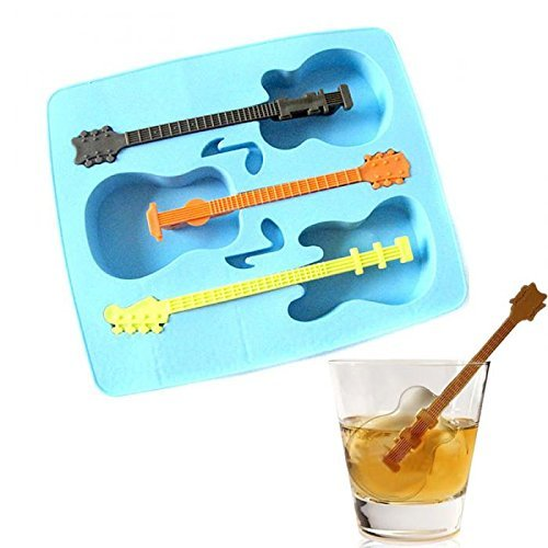 M$M shop Summer Sale New Ice Mold Tool Drinking Mold Tray Makes Guitar Ice Gifts Weird Ice Tray And Cube