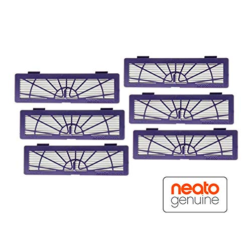 Neato Robotics BotVac High-Performance Filters for Neato Robotics BotVac70E and BotVac75 Vacuums (6-Pack) Black NEATO-945-0132