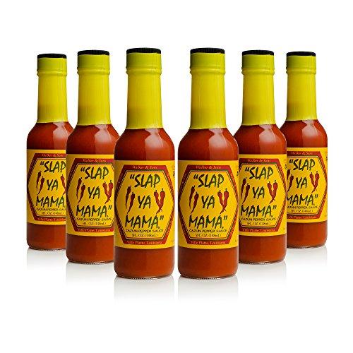 Slap Ya Mama Cajun Pepper Sauce 5oz, Pack of 6 by ''SLAP YA MAMA''