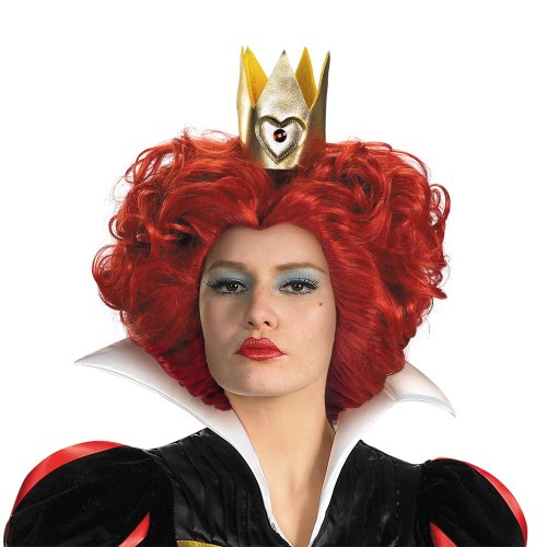 [Disguise Costumes Women's Queen Wig,Red,One Size- Adult] (Red Queen Of Hearts Costumes Wig)
