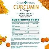 Green-Happy-Turmeric-Curcumin-Ginger-Gummies-Vegan-Gluten-Free-Antioxidant-Inflammation-Joint-Support-110-Ct-110-Count