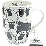 Dublin Gift Trébol Regalo sg03456la Oveja Negra Taza de Porcelana