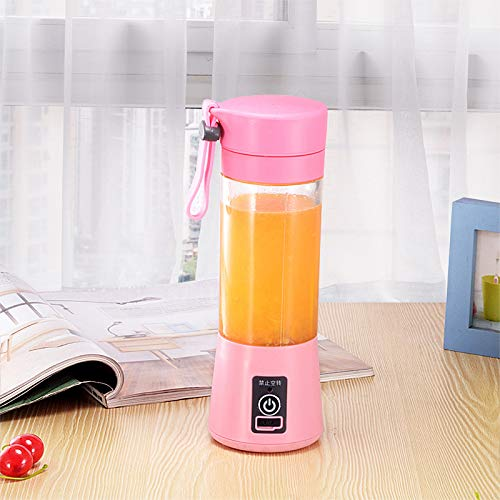 Amazon.com: WxB USB Charging 4 Blades Portable Juicer Juice ...