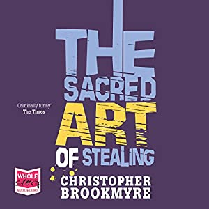 The Sacred Art of Stealing Hörbuch