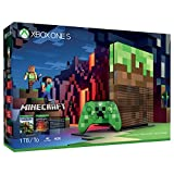 Microsoft Xbox One S 1TB Limited Edition Minecraft Bundle Edition with Creeper Controller