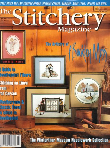 - The Stitchery Magazine (February/March 1996, Volume 1, Issue 3)