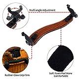 Adjustable Imitation Wood Grain Violin Shoulder