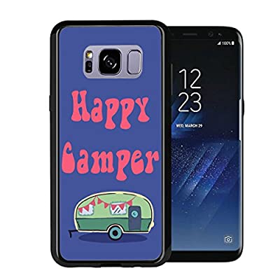 Happy Camper Funny For Samsung Galaxy S8 Plus + 2017 Case Cover by Atomic Market