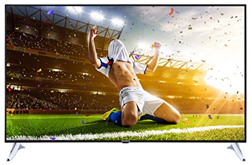 Telefunken XU65A401 165 cm (65 Zoll) Fernseher (4K Ultra HD, Triple Tuner, DVB-T2 H.265/HEVC, Smart TV, Netflix)