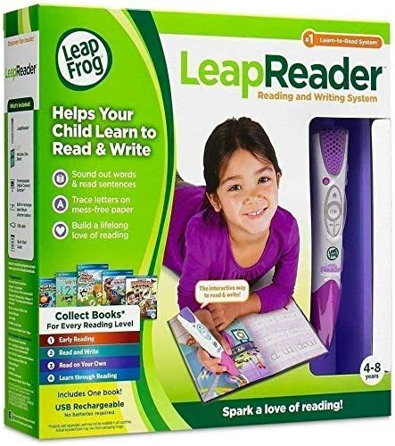 Pink LeapFrog LeapReader Reading and Writing System