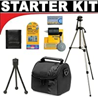 Deluxe DB ROTH Accessory STARTER KIT For The Sony NEX-VG10, DCR-SX45, HDR-CX700V, TD10, PJ10, PJ30V, PJ50V, HXR-MC50U Camcroder