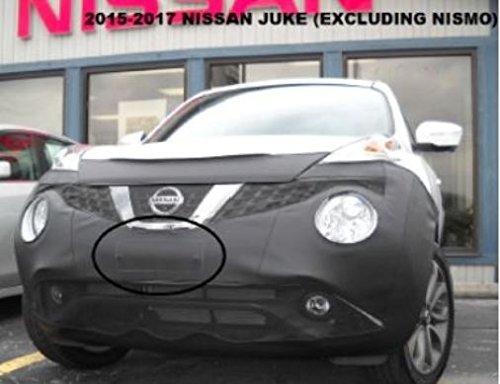 Car Mask Bra Nissan Juke 2015-2017 Except Nismo Fits Lebra 2 piece Front End Cover Black