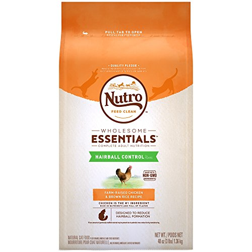 Nutro Wholesome Essentials Hairball Control Adult Dry Cat Fo
