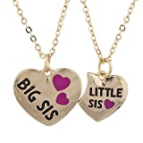 Best Lux Accessories Friends Turtles - Lux Accessories Goldtone Big Sis Lil Heart VDay Review
