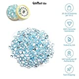 Select Your Stone 50 Carat Mix Gemstone Lot Gemmartusa loose Gemstone (BLUE TOPAZ) BT-60001