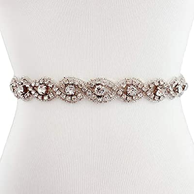 Bridesmaid Bress Belts With Rhinestones Wedding Dress Belts And