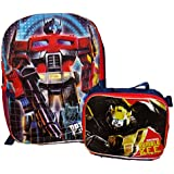 Transformers Large Backpack with Detachable Insulated Lunch Bag - Bumble Bee