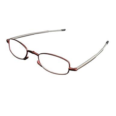 Inlefen Lunettes de femmes sans cadre anti-UV rayons UV protection ordinateur lunettes de lecture force 1.0 1.5 2.0 2.5 3.0 3.5 4.0 sR4sK9