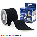 AUPCON Uncut Kinesiology Tape Waterproof Strength Hypoallergenic Sensitive Athletic Sports Tape Kinetics Recovery