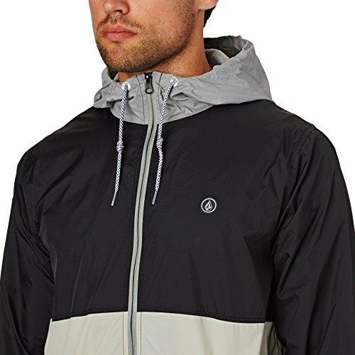 Volcom Mens Ermont Hooded Windbreaker Jacket A1511704