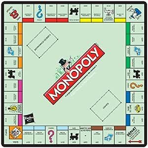 Abystyle - Alfombrilla monopoly: Amazon.es: Juguetes y juegos