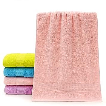 mmynl algodón agua absorción de grosor suave color Hombres y Mujeres Taxi parejas Toallas de baños de la rosa 76 x 34 cm: Amazon.es: Hogar