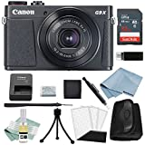 Canon G9x Mark II Digital Camera Bundle (Black) + Canon PowerShot G9 x Mark II Advanced Accessory Kit - Including EVERYTHING You Need To Get Started