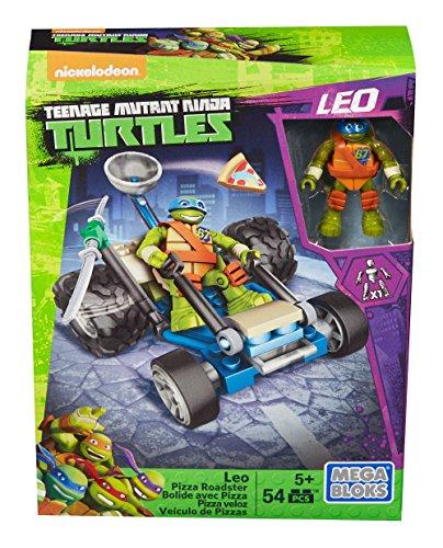 Teenage Mutant Ninja Turtles Mega Bloks Ninja Racers Leo Pizza Roadster